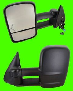 2005 2006 Chevrolet Silverado 2500 3500 Hd Driver Power Side Tow Mirror W Signal