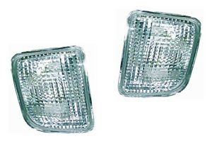 New Clear Front Bumper Light Pair For 1995 1996 1997 1998 2000 Toyota Tacoma