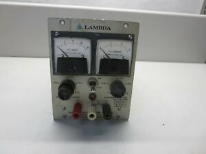 Lambda Lh121fm Dc Power Supply 0 20 Vdc 0 2 4 Amp 105 135 Vac 45 480 Cps