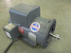 5 Hp Baldor Electric Motor 208 230 Volt 1725 Rpm Press Wash Air Comp Tested