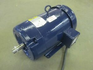 7 5 Hp Baldor Electric Motor 230 460 Volt 3 Phase 1725 Rpm Air Comp Tested
