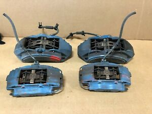 2012 Jeep Grand Cherokee Srt8 Set Of Brembo Brake Calipers Front And Rears