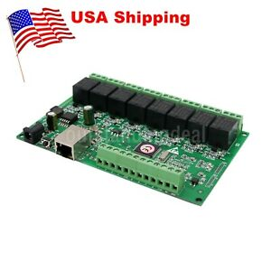 Network Ip Relay Web Relay Dual Control Ethernet Rj45 Interface 8 Ch Relay Us