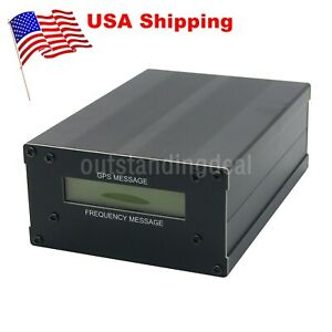 Us Gpsdo Gps Colck 10m W Lcd Display Frequency Message Disciplined Oscillator