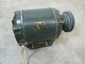Vintage Century Model Ac Motor Sp 45 fkk5 Electric 1 4 Hp 1725 Rpm