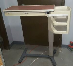 Hill rom 632 f Pm Jr Over Bed Table