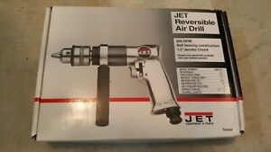 New Jet 1 2 Reversible Air Drill Jsm 704 90psi 800 Rpm Pneumatic Tool