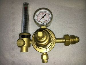 Victor Flow Meter Hsr 2570 Inert Gas Regulator Welding Gauge 3000 Psig