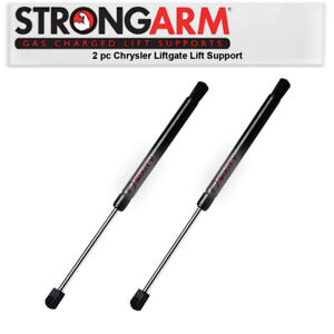 2 Pc Strong Arm Hatch Lift Supports For Chrysler Aspen 2007 2008 Rear Gx