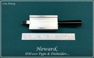 Howard Machine Personalizer dh 100 Type Die Holder Hot Foil Stamping Machine