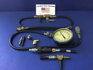 Snap On Tools Usa Mt33b Compression Gauge With Accessories 472
