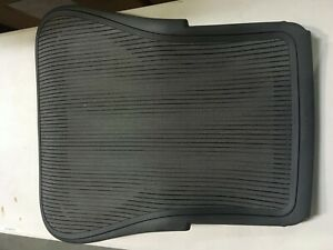 Herman Miller Aeron Chair Backrest 3d02 Graphite Large Size C Classic Lead Oem