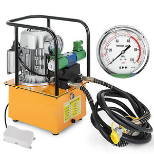 Electric Driven Hydraulic Pump 7l Double Acting Two circuit Good New Generation