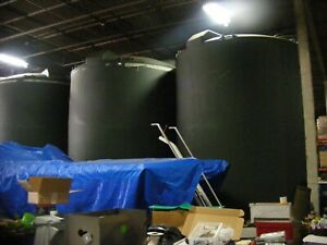 12 000 Gallon Poly Processing Vertical Storage Tank In Nj