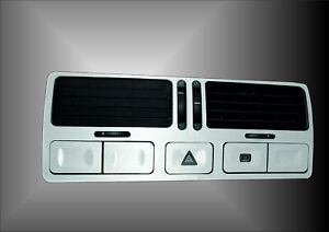 Vw Golf Mk4 Jetta Bora Dual Control Brushed Aluminium Effect Air Vents