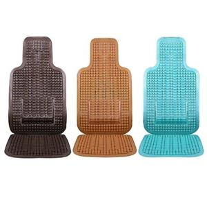 Car Seat Cover Cushion Auto Vehicle Wooden Massage Bead Summer Cool Seat Cover