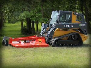 60 Bigfoot Skid Steer Mower Ships Free To Texas Surrounding States