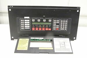 Simplex 4020 8001 Annunciator Fire Alarm Display Panel 841 842 With Assy 565 241