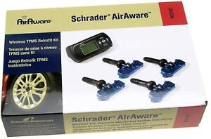 New Schrader Air Aware 20256 Wireless Tire Pressure Monitor System Retrofit Kit