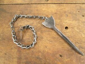 Antique Hand Forged Door Latch Drop Pin