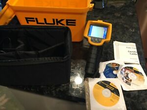 Fluke Tis Thermal Imaging Infared Scanner With Accessories And The Case Ex Shape