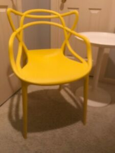 Modern Masters Chair Replica Starck Era Yellow
