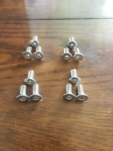 Correct New Stainless Jeep Cj7 Scrambler Hard Door Hinge Torx Bolts