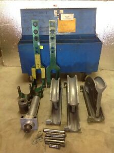 Greenlee 885t 885te 2 1 2 3 3 1 2 Emt Pipe Conduit Bender Tubing 881 7153a