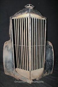 1937 Packard 115 120 Grille Shell Grille Hood Ornament Rat Rod Wall Art