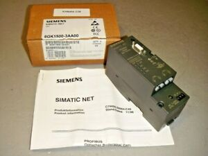 Siemens Sgk1500 3aa00 Simatic Net Obt Profibus Optical Bus Terminal