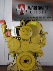 1999 Cat 3406e 2ws Diesel Engine 500hp Approx 460k Miles All Complete