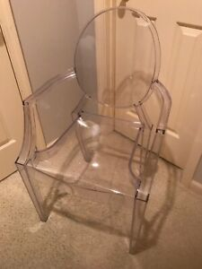 Modern Style Ghost Arm Chair Replica Starck Era