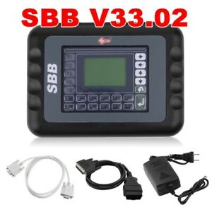 V33 02 Sbb Car Key Programmer Transponder Immobilizer Obdii 2 Auto Diagnostic