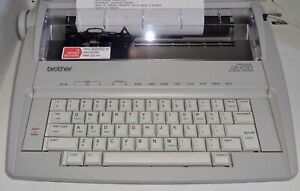Excellent Smith Corona Deville 450 Electric Portable Typewriter Works