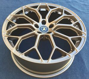 Lamborghini Huracan Performante Narvi Forged Wheels Rims Bronze New 20 Oem