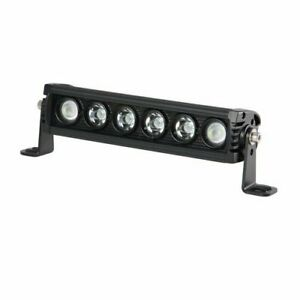 Led Night Light Bar Single Row Black Waterproof Utility Led Lights Bar