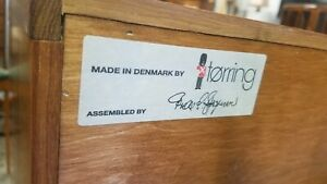 2 Danish Mid Century Modern Torring Made In Denmark Nightstands