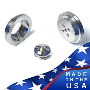 Extra Short Shorty Ford Small Block Pulley Kit Ford Racing Water Pump Crank Sbf