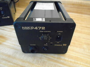 Hakko 472 Desoldering Tool Power Supply 2