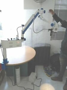 Portable Ent Operating Microscope With 3 Step Manual Fine Focusing