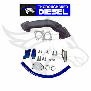 Gdp Egr Cooler Upgrade Kit W Up Pipe 2004 5 2005 Gm Duramax Lly