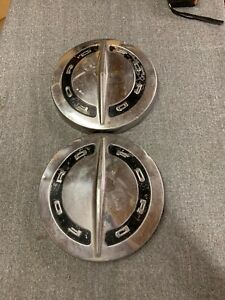 64 65 66 Ford Truck 10 1 2 Dog Dish Hubcaps Poverty Galaxie Chrome
