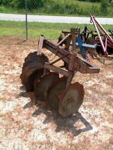 Heavy Duty 3 Point Hitch 8 Disk Harrows 20 Inch Discs Usa Made 5 1 2 Ft X 3 1 2