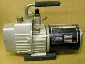Yellow Jacket 93560 Superevac Vacuum Pump 6 Cfm Refrigerant Recovery 2 stage
