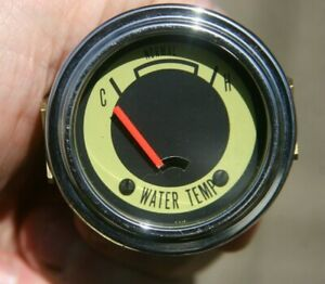 Vintage Nos Stewart Warner Marine Boat Electric Water Temperature Gauge
