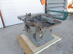 Oliver 88 D Sliding Table Saw Wwii Production Machine Excellent Condition