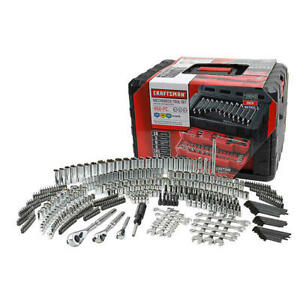 Craftsman 450 Pc Mechanic s Tool Set Includes 3 Drawer Box Un opened