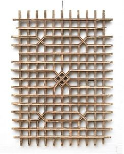 Antique Chinese Wooden Carved Panel Screen Window Shutter Qing Dynasty 19th C