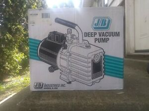 Jb Industries Hvac Deep Vacuum Pump Model Dv 142n 5cfm