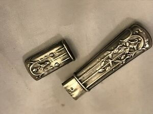 Victorian Sterling Silver Needle Holder